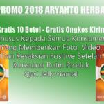 Promo 2018 Aryanto Herbal Untuk Semua